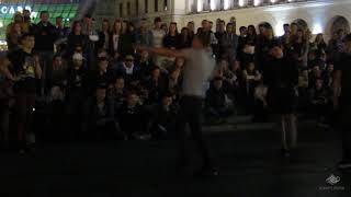 Танцевальные батлы Крещатика,Вечерний Киев часть10 - Dance Battles Khreshchatyk,Kiev Evening part10