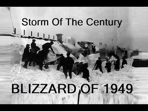 Storm of the Century - the Blizzard of 1949 - The Worst Storm In Wyoming History