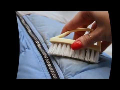 Как вывести жирное пятно с пуховика - очистка в домашних условиях