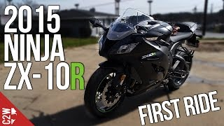 2015 Kawasaki Ninja ZX-10R | First Ride