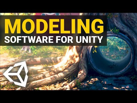 BEST MODELING SOFTWARES For Unity 2019!