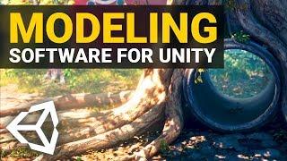 BEST MODELING SOFTWARES for Unity 2019!