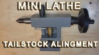 Mini Lathe tailstock centering: The definitive video guide