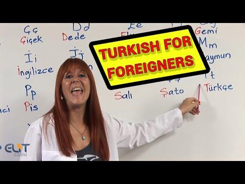 Turkish For Foreigners-Yabancılar için Türkçe Eğitim Seti