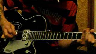 gretsch black phoenix rock n roll guitar fender 59 bassman ltd amp weazeldust