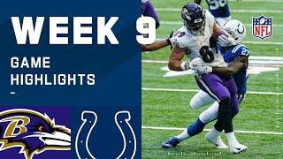 Ravens vs. Colts Week 9 Highlights | NFL 2020