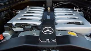 Bmw s70b56 V12  & Mercedes M120 V12  *Coin balans test*