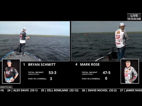 FLW Live Coverage | Lake Okeechobee | Day 3