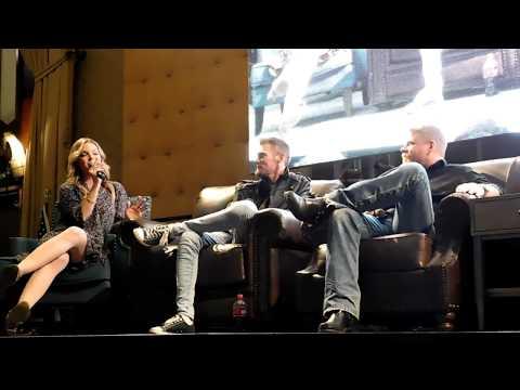 The Walking Dead panel @ RICC 2017 David Morrissey, Michael Cudlitz