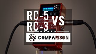 BOSS RC-5 vs RC-3 Loop Station Comparison | Better Music