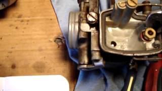 carburetor cv jets float bowl 1971 honda cb450 keihin carb part 1 2