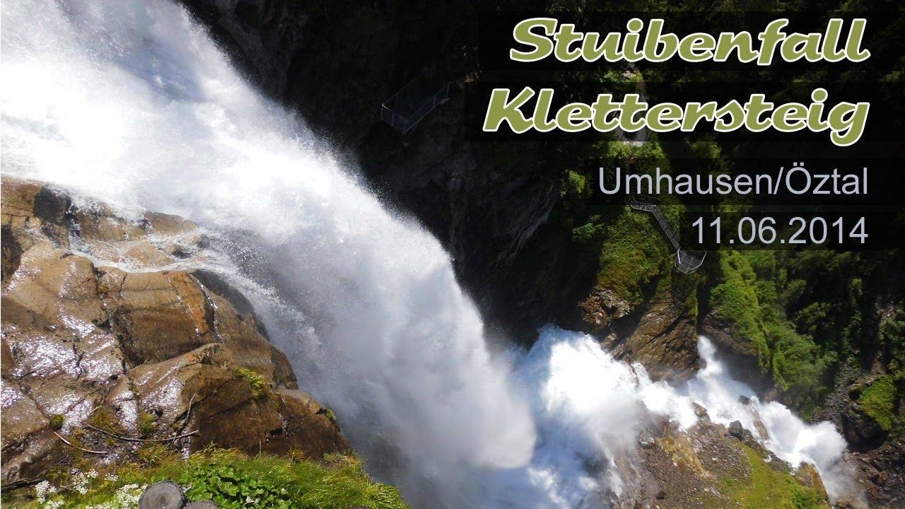 Klettersteig Umhausen : Spektakulärer stuibenfall klettersteig in umhausen Ötztal
