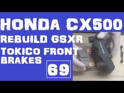 Repeat 54  Honda CX500 Cafe Racer - Keihin Caburetor rebuild