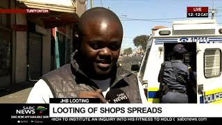 Looting spreads | Gillian Pillay updates