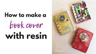 DIY Book covers with resin