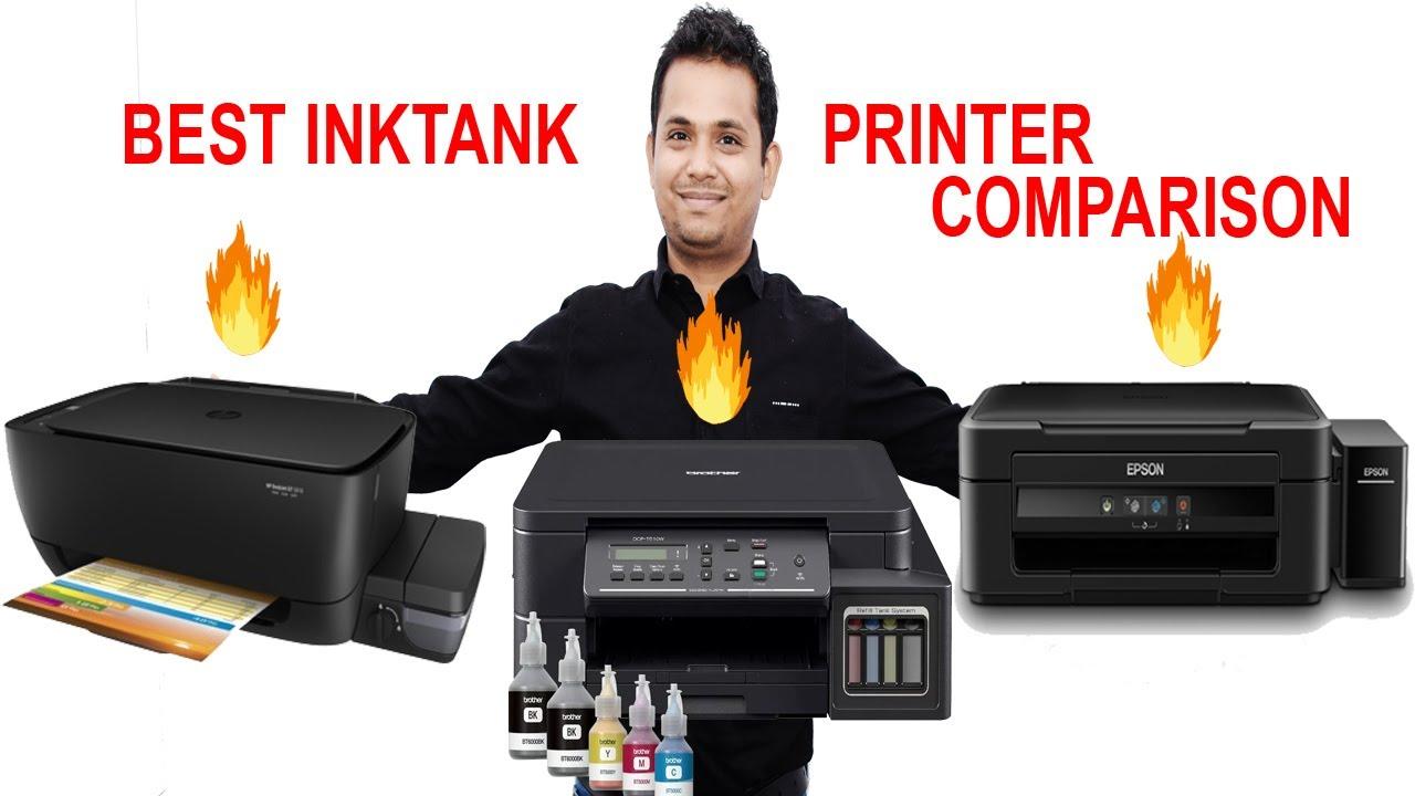 Best Ink Tank Printer Comparison - BROTHER vs HP vs Epson