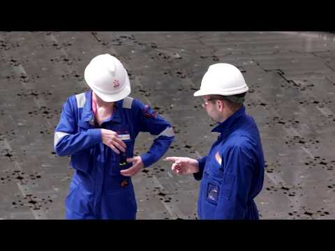 David Farrell - inside Torness Nuclear Power Station