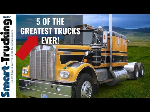 The Top 5 Greatest Trucks of All Time!