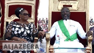 🇱🇷 Liberia: George Weah sworn in as president