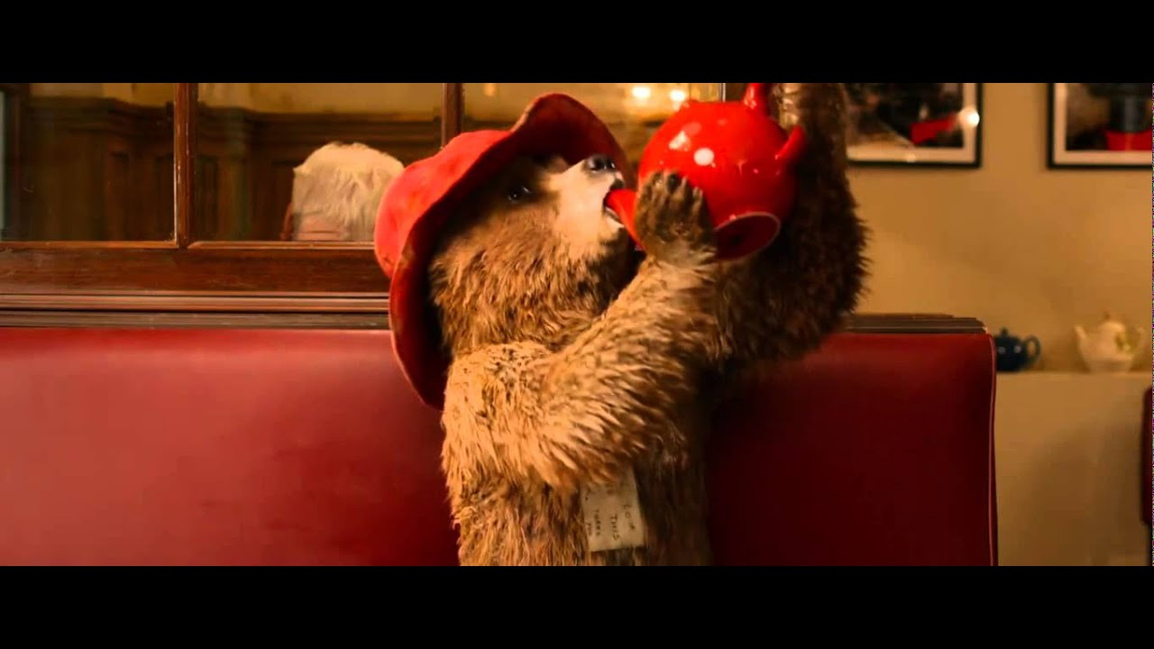 "Paddington Official Clip ""Tearoom"" (2015) - Ben Whishaw ... 