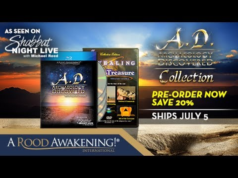 Jesus' Blood Found on the Ark of the Covenant - Shabbat Night Live - 06/23/17