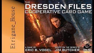 [PC\Jeu de Plateau] The Dresden Files Cooperative Board Game
