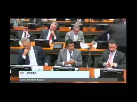 Guido Mantega na CPI do BNDES