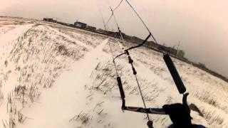 Ужасы зимнего кайтинга в Сибири