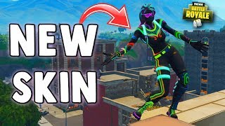 FORTNITE NITELITE SKIN GAMEPLAY!! New BEST Skin in Fortnite Battle Royale