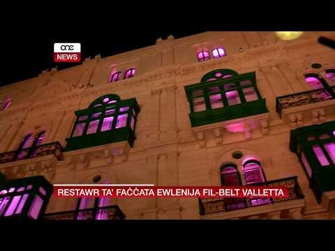 RESTAWR TA' FAĊĊATA EWLENIJA FIL-BELT VALLETTA.