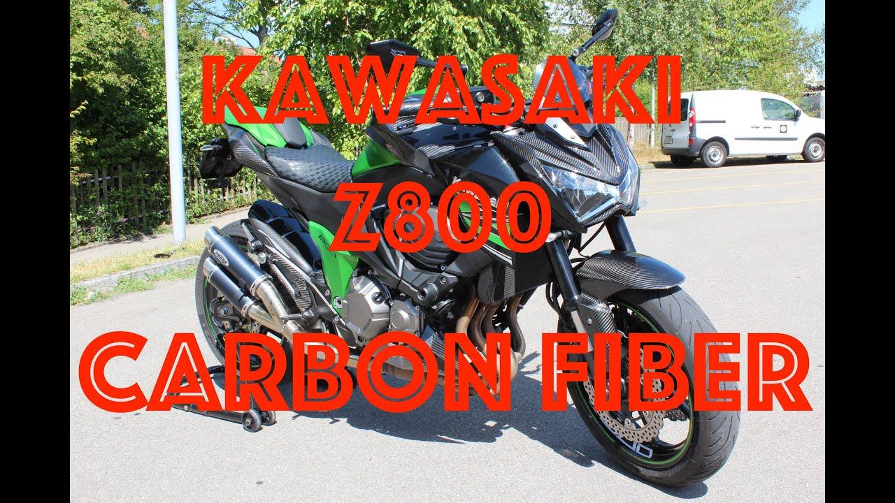 kawasaki z800 carbon fiber rizoma tuning swissbiker. Black Bedroom Furniture Sets. Home Design Ideas