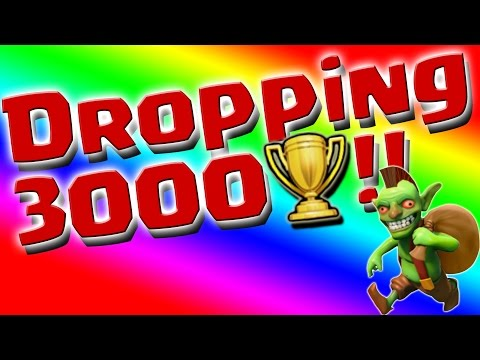 Clash Of Clans:  Why You SHOULD Drop Trophies!!  Dropping 3000