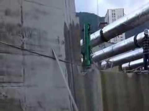 hydraulic wire saw / concrete wire saw cutter - YouTube