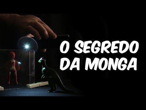 O segredo do efeito Monga (explicação do holograma caseiro)