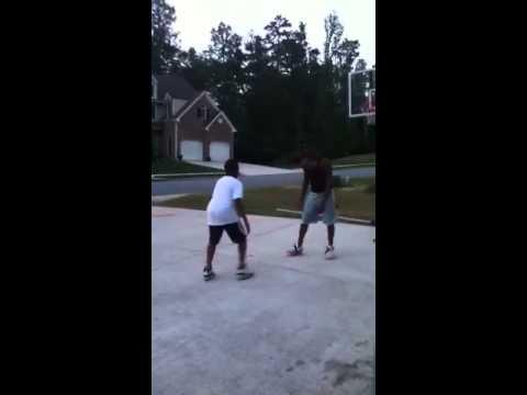 Cobb county boys playing basketball