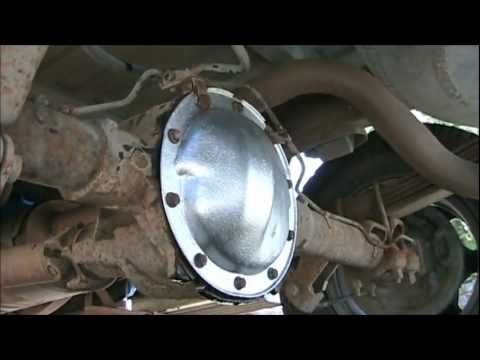 Rear Differential Rear End Fluid Change Diy For A 1998
