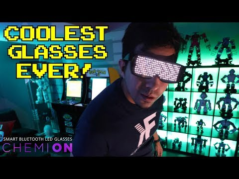 CHEMION : Unboxing & Review : LED SMART GLASSES! 2019