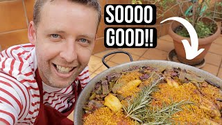 We Make a REAL PAELLA Valenciana (Recipe Included!)