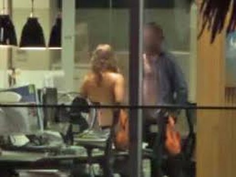 New Zealand couple's office sex romp caught on camera