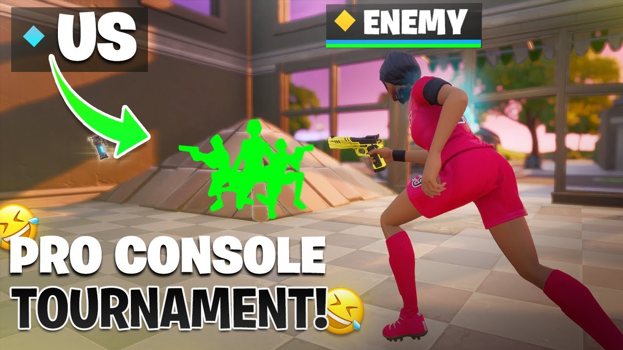 TROLLING in a PRO CONSOLE TOURNAMENT! (200IQ Strategies) | soyFNBR