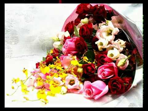 Happy Father's Day Wishes With Beautiful Flowers,Wishes,Greetings,Images,Wallpapers