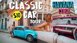 OLD HAVANA In A Classic Car!! (Top Things To Do In Havana Cuba)