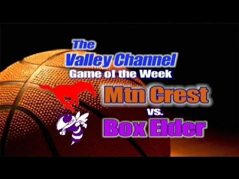 Box Elder High School at Mountain Crest High School Basketball Game  11-29-16