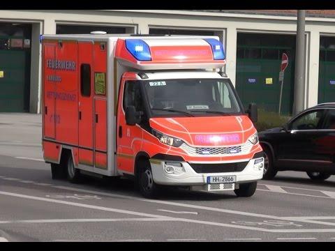 Iveco Prototyp RTW BF Hamburg