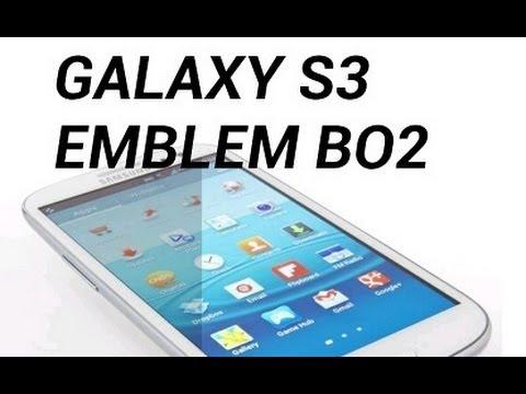 Black Ops 2: Samsung Galaxy S3 Emblem Tutorial