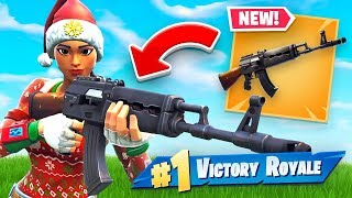 *NEW* HEAVY ASSAULT RIFLE Gameplay In Fortnite Battle Royale!