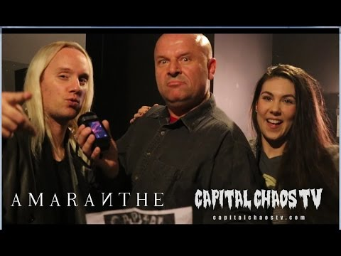 Elize & Olof of Amaranthe interviewed in...