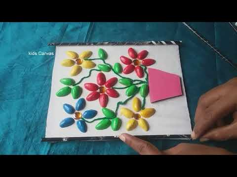 How to make flowers from Pista shells ,very easy DIY ,home decor,Recycling ideas ,kids project ideas