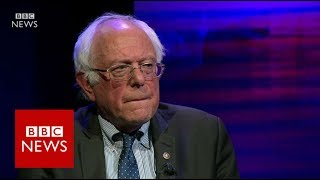 Bernie Sanders  'The momentum is with us'   BBC News