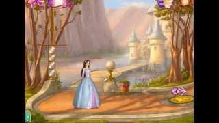 Принцесса и нищенка Барби - Прохождение уровня Украшение тронного зала